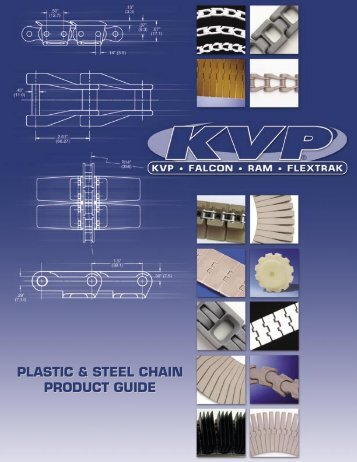 plastic & steel chain product guide plastic & steel chain ... - Nab Belting
