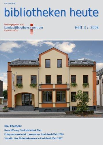 komplette Ausgabe - Landesbibliothekszentrum Rheinland-Pfalz