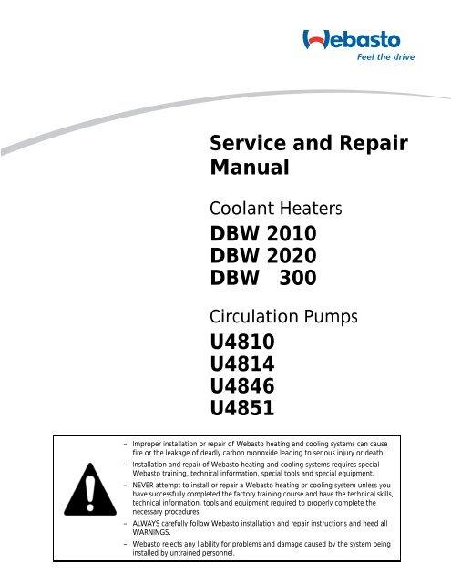 Service and Repair Manual DBW 2010 DBW 2020 ... - TexasDrifters on