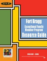 Fort Bragg - Cumberland County Schools