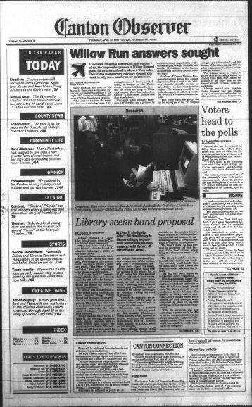 Canton Observer for April 13, 1995 - Canton Public Library