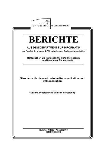 BERICHTE - Naturheilpraxis Dr. Pedersen