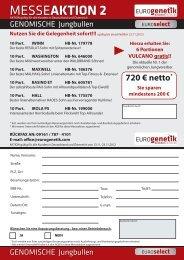 Messeaktion genomische Jungbullen FV.indd - Fleckvieh Nord GmbH