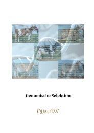 Broschüre genomische Selektion