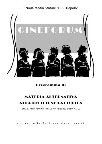 M. Lacchè MAT. ALTERNATIVA Materiale didattico – Cineforum