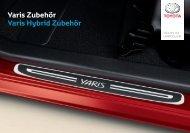 Yaris / Hybrid Zubehör
