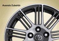 Avensis Zubehör