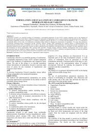 formulation and evaluation of candesartan cilexetil immediate ...