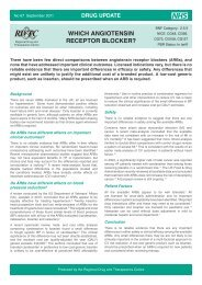 Which angiotensin receptor blocker? - Regional Drug ...