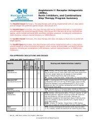 Angiotensin II Receptor Antagonists (ARBs), Renin Inhibitors, and ...
