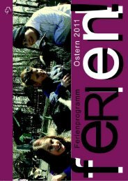 Osterferienprogramm des Jugendamtes (PDF - Download)