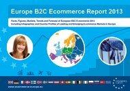 Europe B2C Ecommerce Report 2013