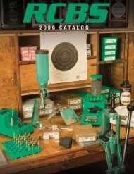 Table of ConTenTs - The Reload Bench