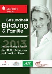 Perspektiven für Frauen - Sparkasse Passau