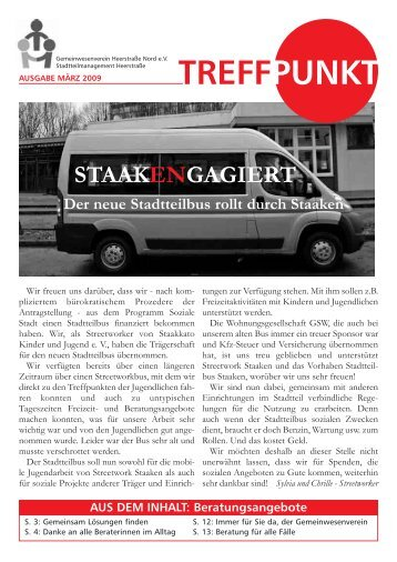 Treffpunkt Ausgabe März 2009 - staaken.info
