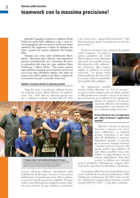 Riunione vendite 2011: Strike 2012 - Elbe Holding GmbH & Co. KG