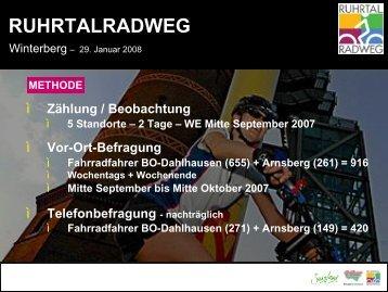 RUHRTALRADWEG - Metropole Ruhr