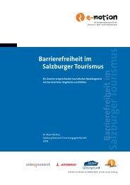 Barrierefreiheit im Salzburger Tourismus - Barrierefreiheitscheck.at