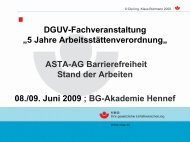 "ASR ""Barrierefreie Gestaltung"""
