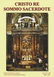 """Associazione """"Amici di Cristo Re Sommo Sacerdote"""""""