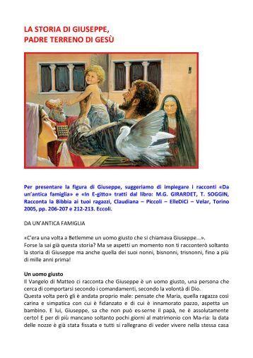 La storia di Giuseppe - Dossier Catechista