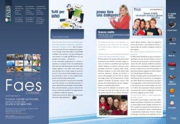 FAES Channel numero 6 - Giugno 2010