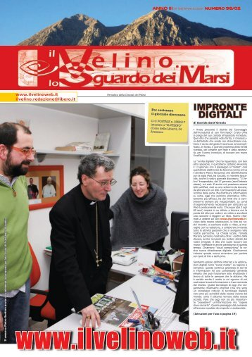 Il Velino, lo Sguardo dei Marsi Anno III, numero 36/02 del 31 ...