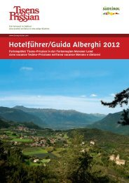 Hotelführer/Guida Alberghi 2012 - Meraner Land