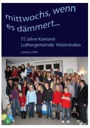 hier - Ev.-luth. Kirchengemeinde Luther Holzminden