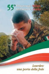 Sussidio liturgico Pellegrinaggio.pdf - Ordinariato Militare in Italia