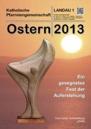 Weihnachtsbrief 2012 – Pfarreiengemeinschaft ... - Kirche Landau
