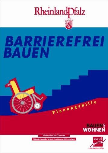 Barrierefreies Bauen - Finanzministerium Rheinland-Pfalz