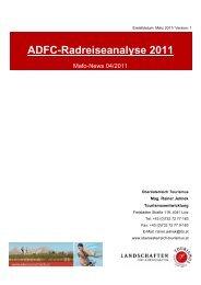 Mafo-News ADFC-Radreiseanalyse - Oberösterreich Tourismus