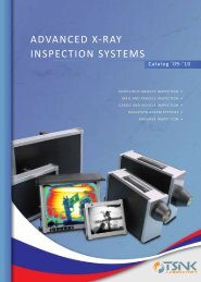 ADVANCED X-RAY INSPECTION SYSTEMS - Tsnk-lab.com