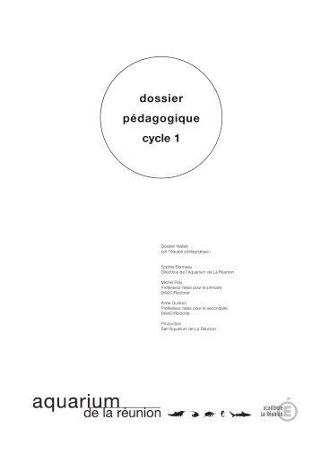 Dossier pédagogique cycle 1 - Aquarium de La Réunion