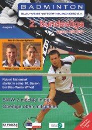 Blau-Weiss Wittorf - Badminton