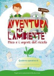 Il quaderno operativo per gli alunni - Avventura per l'ambiente