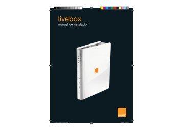 manual Router Livebox.indd - Área de clientes - Orange