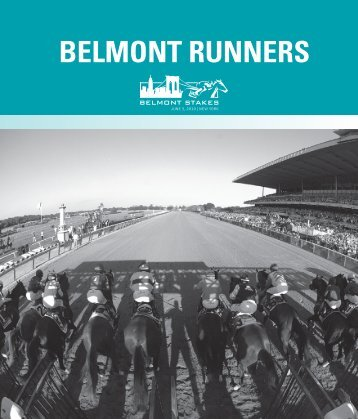 BELMONT RUNNERS - Belmont Stakes