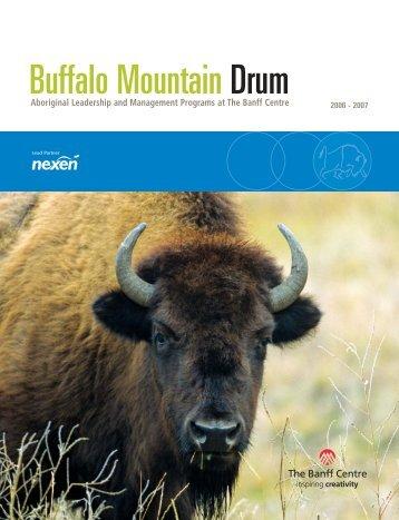 Buffalo Mountain Drum - The Banff Centre