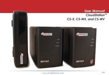 Download User Manual (English) - CloudStation
