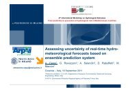 Assessing uncertainty of real-time hydro- meteorological forecasts ...