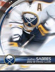 Buffalo Sabres 2012-13 Media Guide - NHL.com
