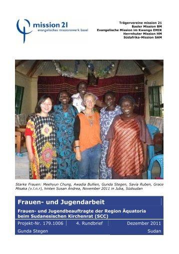 Rundbrief_Stegen_4_SudanDez.11 WEB - Mission 21