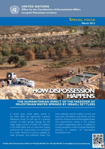 HOw disPOssessiOn HAPPens HOw disPOssessiOn ... - Ocha