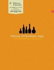 Flavors of Northern Italy - Orbridge