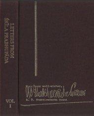 Letters from Srila Prabhupada Vol.1 1947-1969 (in pdf) - Krishna Path