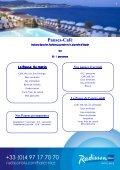 BROCHURE BANQUET Printemps Ete FR - Radisson Blu - Page 5