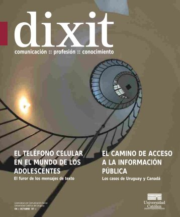 Descargar PDF - Dixit - Universidad Católica del Uruguay