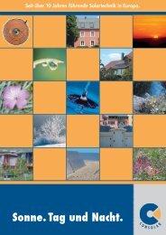 [PDF] Broschuere Consolar - Sonnenenergie24.de